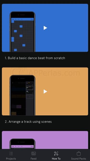 Estudio de grabación para iOS