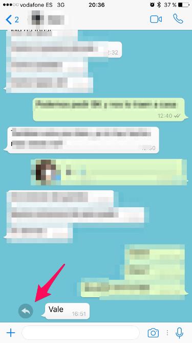 citar mensajes en Whatsapp 1