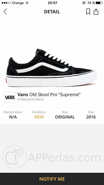 compra zapatillas desde iPhone 3