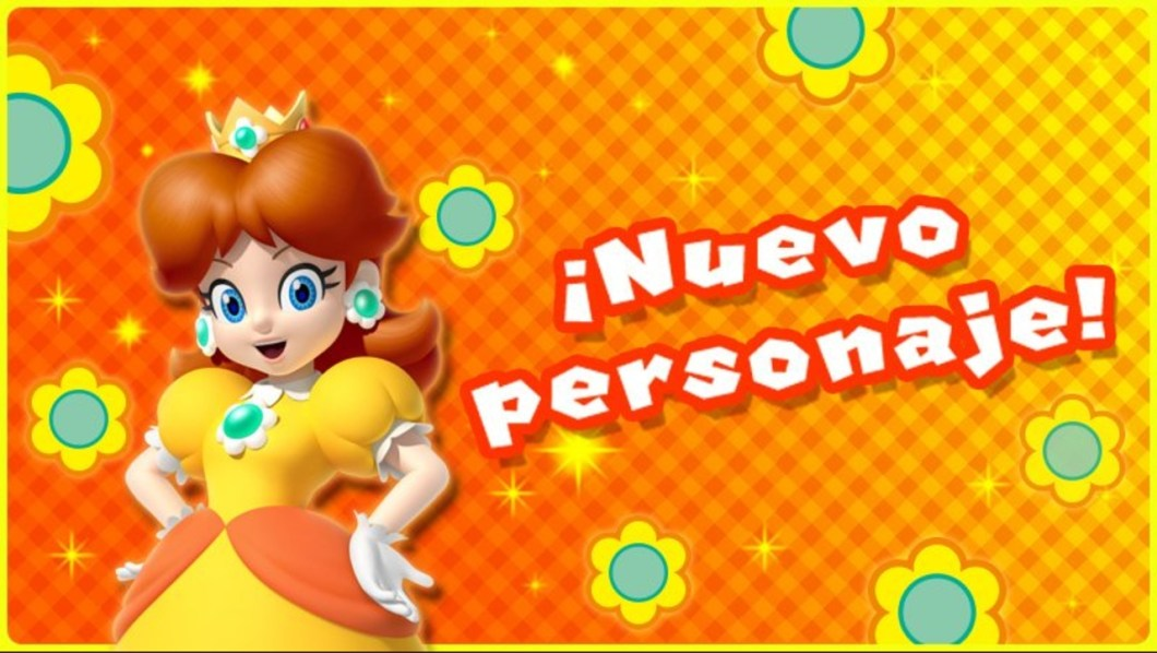 Daisy disponible en Super Mario RUN