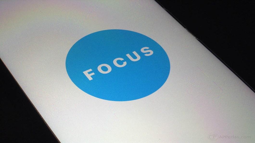 Aumentar tu productividad app focus 3