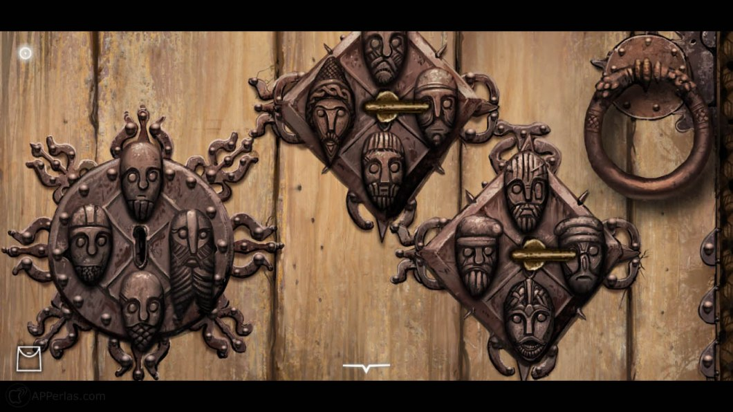 The Frostrune 3 puzzle Point and Click