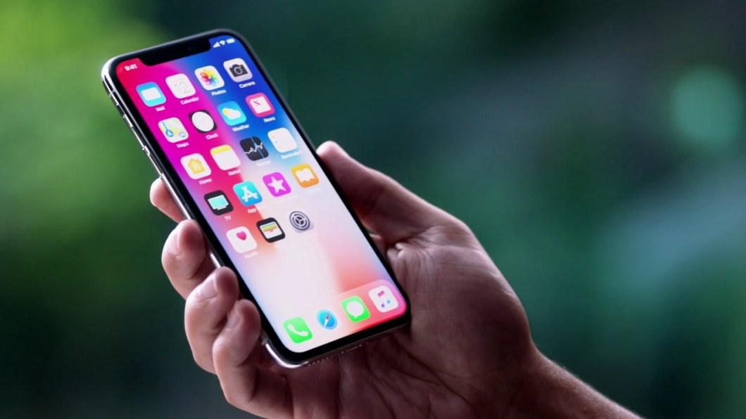 capturas de pantalla con el iPhone X