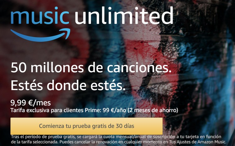 Música GRATIS en Amazon