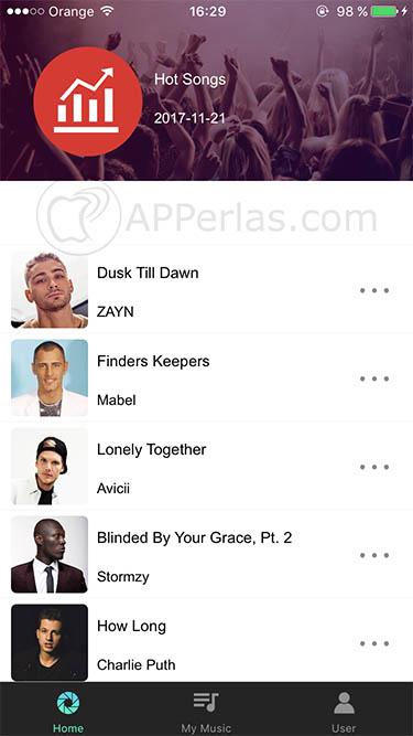 escuchar música en iPhone 3 UMUSIO