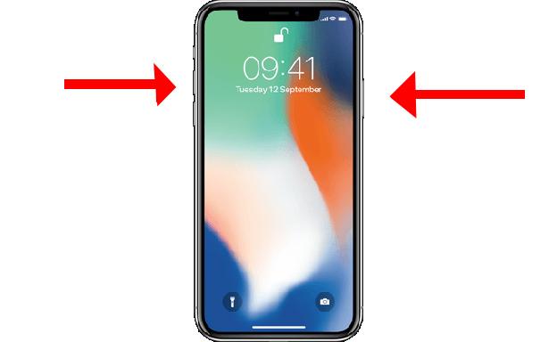 capturas de pantalla con el iPhone X 1