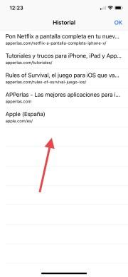 Mira este fantástico truco de Safari en iPhone con iOS 11