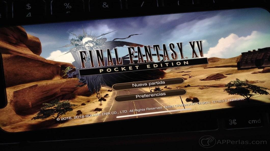Final Fantasy XV Pocket Edition 1