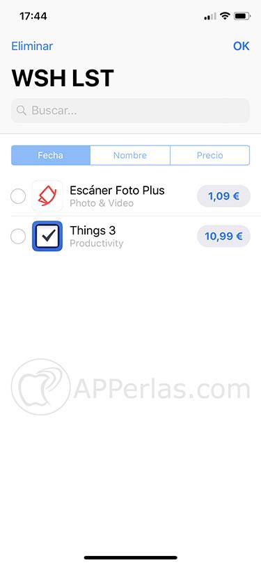 lista de deseos para el App Store 3
