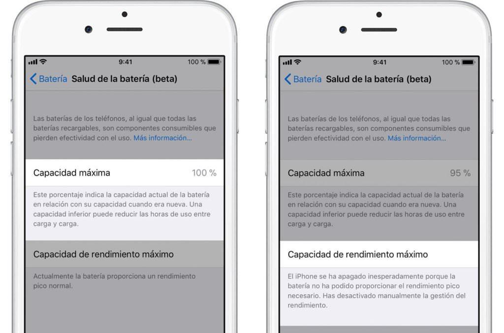 Nueva sección de iOS 11.3
