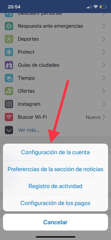 privacidad de tu cuenta de Facebook 1
