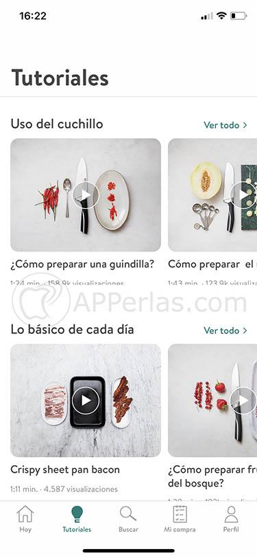 app de recetas Kitchen Stories 3