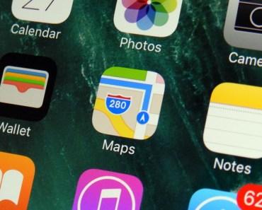 Cómo quitar el punto azul de la ubicación en los Mapas de Apple