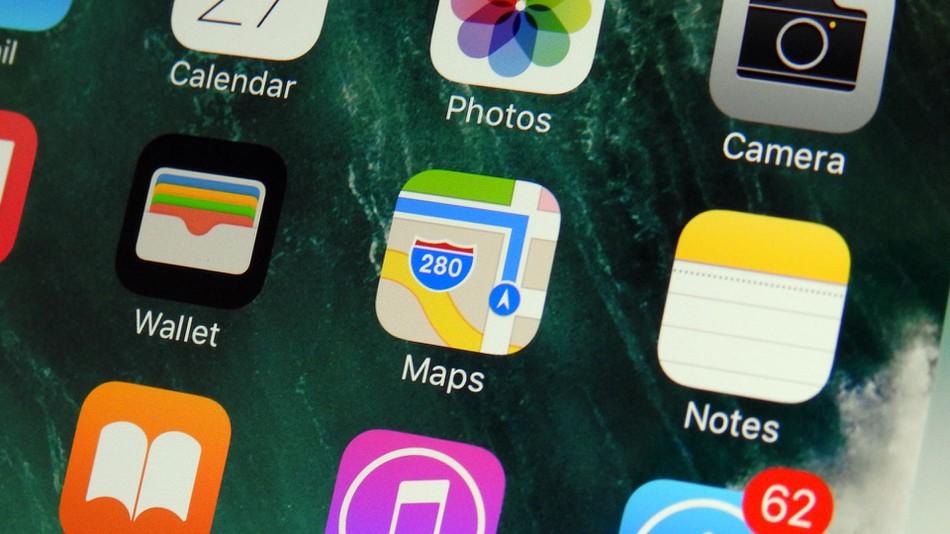 rediseñar Apple Maps