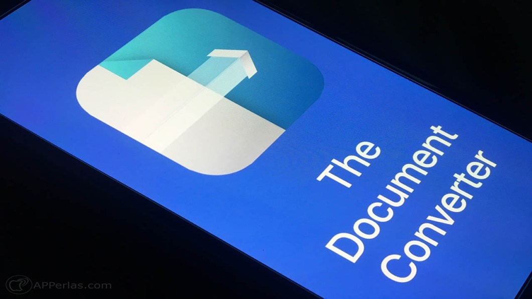 Convertir archivos desde iPhone iPad 1