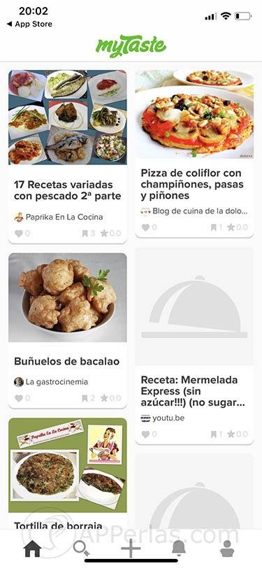 recetas sanas y sencillas mytaste iOS 2
