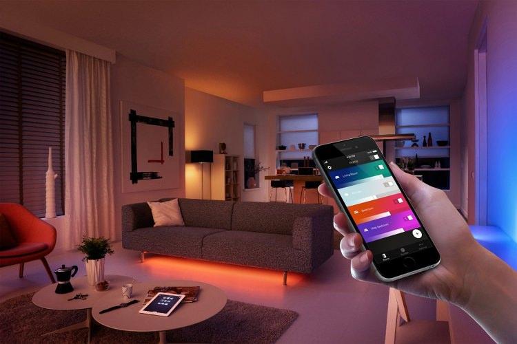 Controla las luces desde el móvil