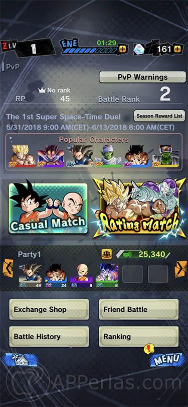 Dragon Ball Legends Bola de Dragon 1