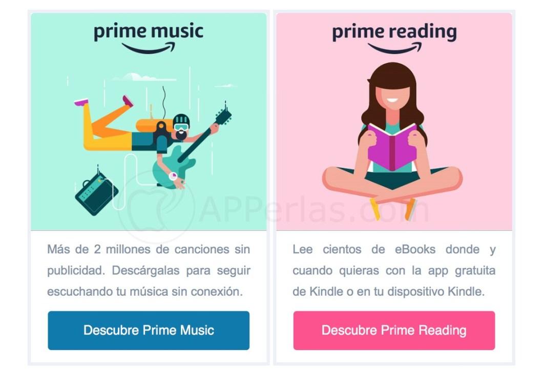 Música y libros gratis en Amazon