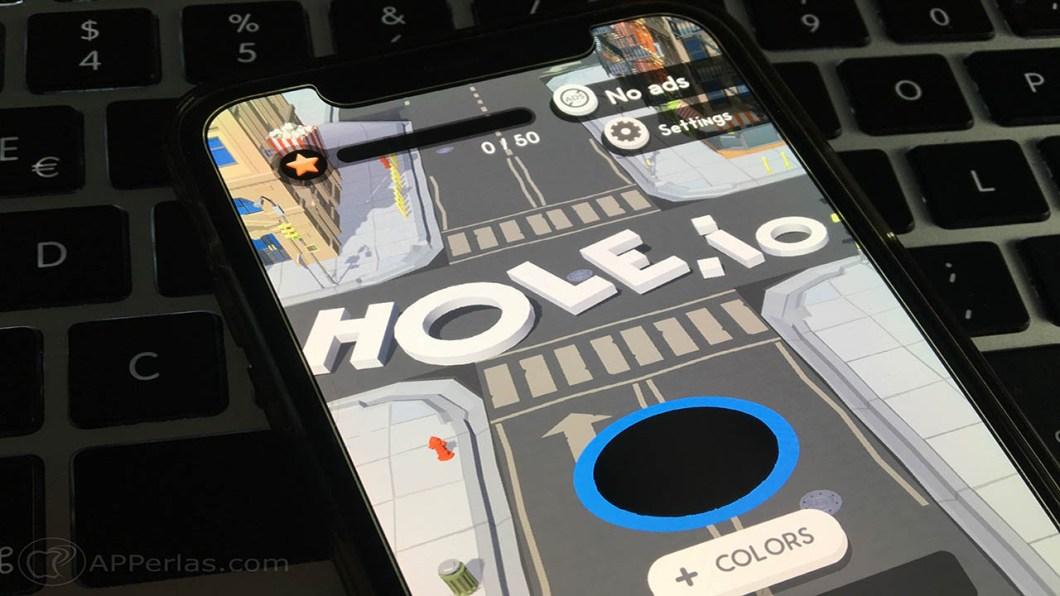 hole.io juego voodoo iphone 1