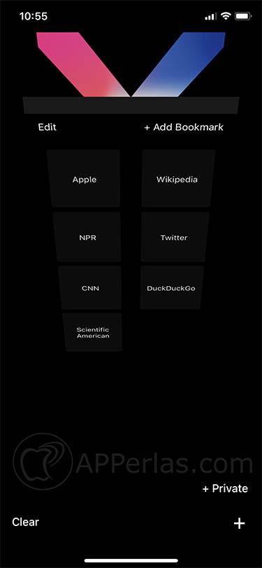 modo oscuro para safari berry dark browser 2