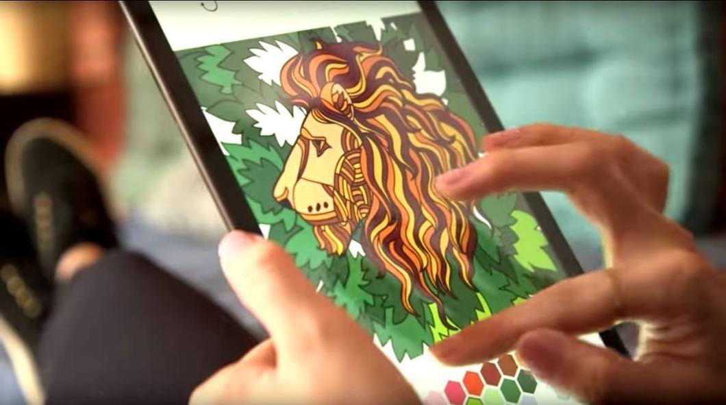 App para colorear Colorfy