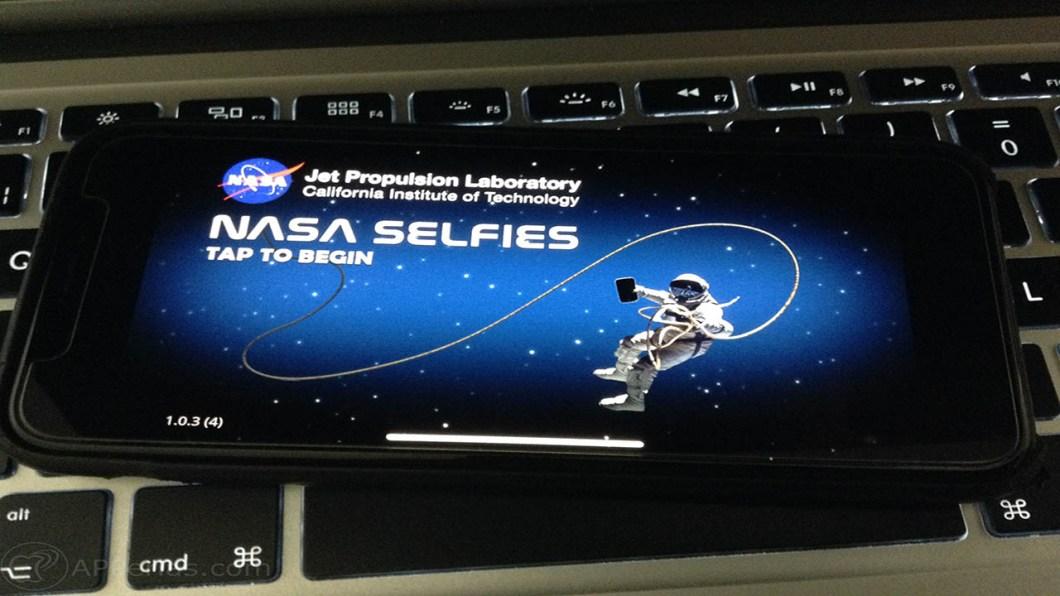 fotos en el espacio NASA selfie 1