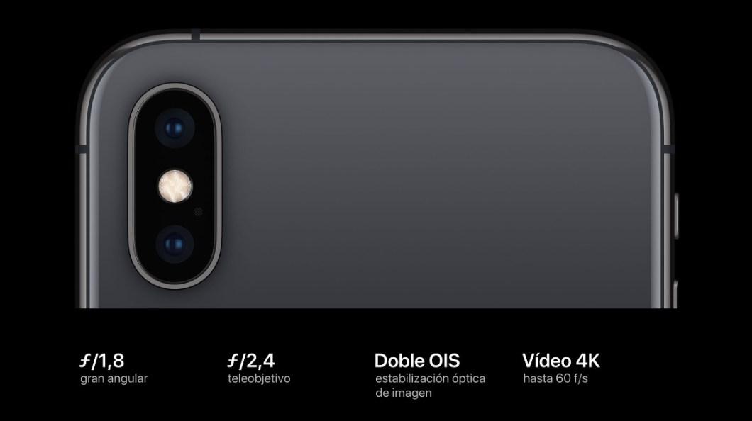 Camara iPhone XS