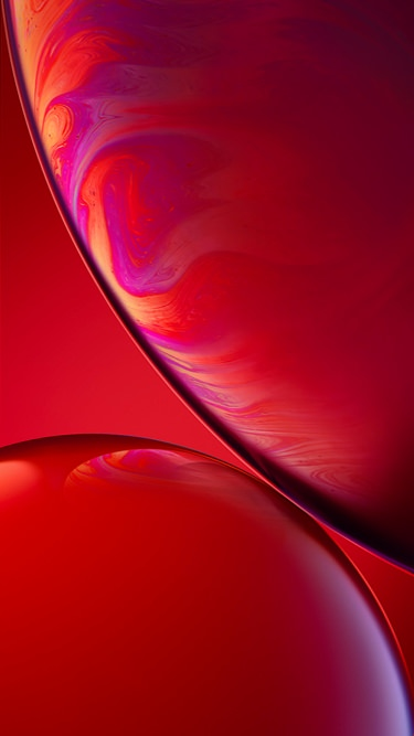 Fondo de pantalla iPhone XR rojo