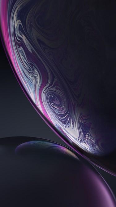 Fondo de pantalla iPhone XR oscuro