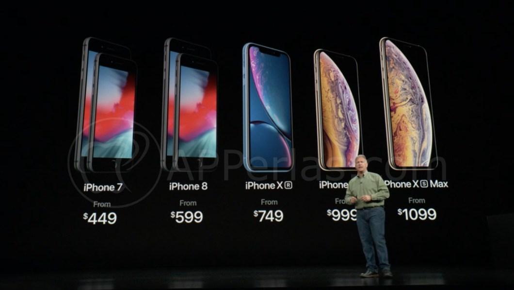Precios oficiales de los nuevos iPhone