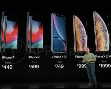 Precios del iPhone Xr, iPhone Xs, iPhone Xs MAX y Apple Watch Series 4 [OFICIAL]