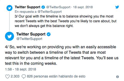 orden cronológico en Twitter 1