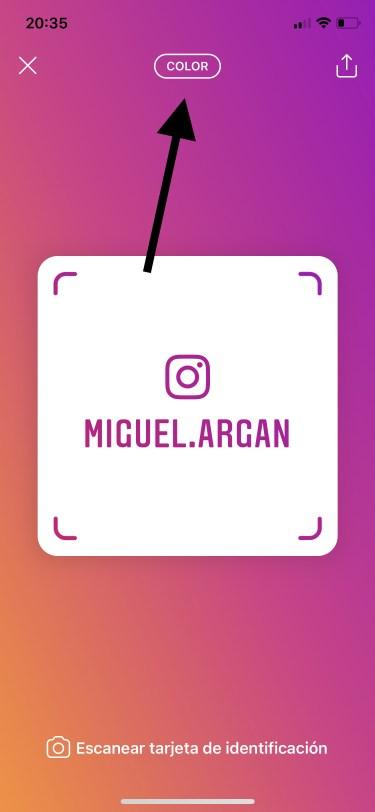 tarjetas de identificación de Instagram 2