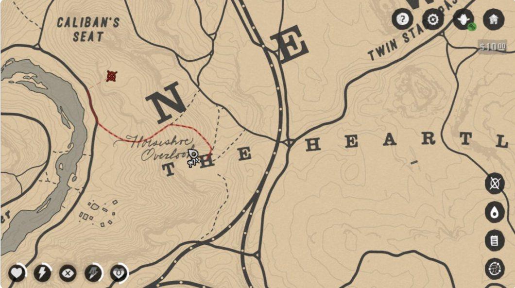 Mapa de Red Dead Redemption 2