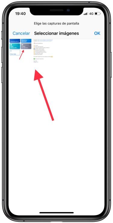 eliminar las capturas de pantalla 2