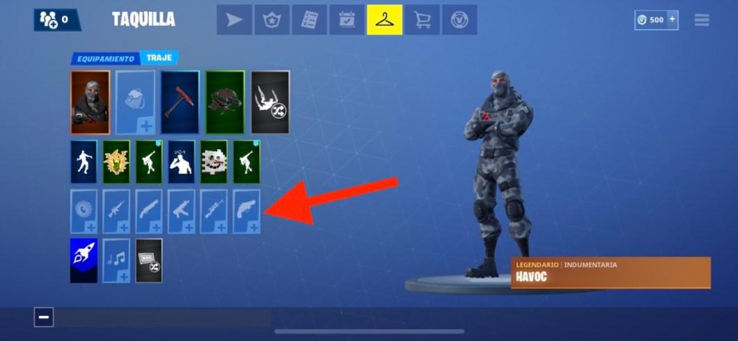 Añade skins a tus armas y vehículos