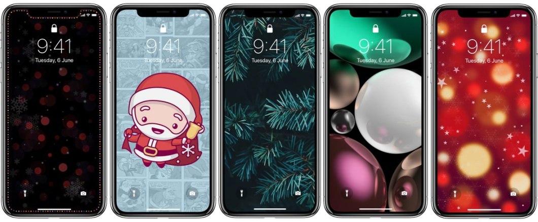 Wallpapers navideños para iPhone