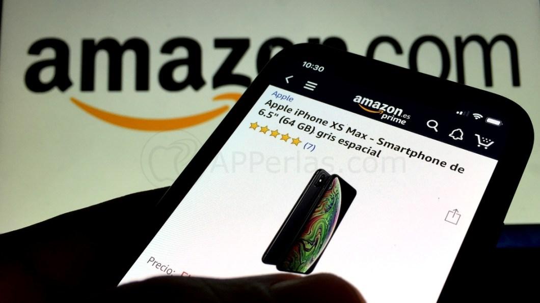 memoria en la app de Amazon