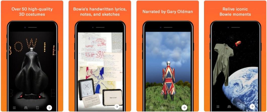 Exposición virtual repasando la vida de Bowie