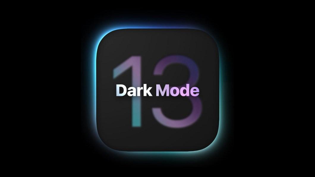 Concepto modo oscuro iOS