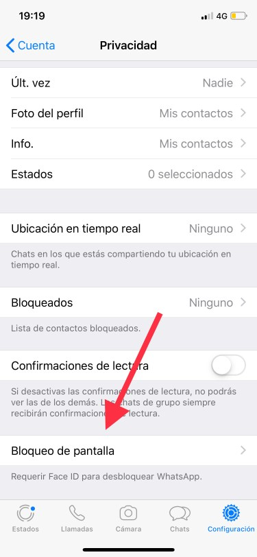 WhatsApp más privado 1