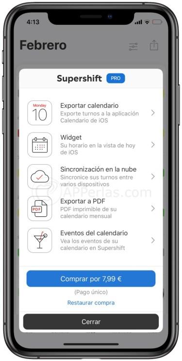 Calendario Turnos.La Mejor Aplicacion Para Turnos De Trabajo Gratis Para Iphone