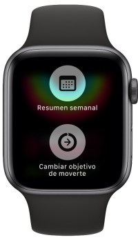 movimiento en el Apple Watch 1