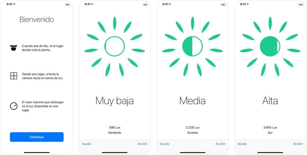App para las plantas