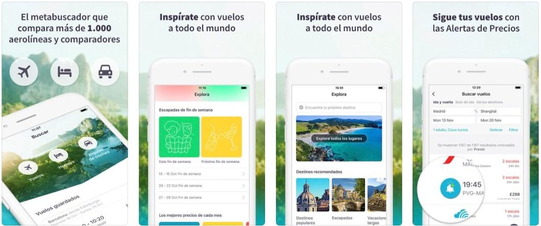 Buscador de vuelos para iOS