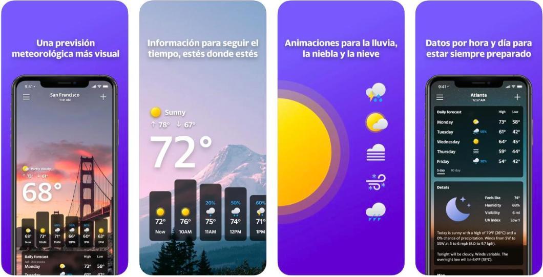 Yahoo Tiempo