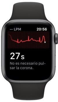 electrocardiograma en el Apple Watch 2