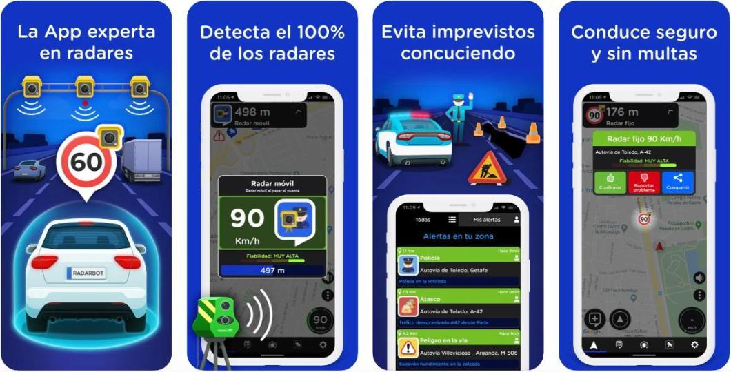 App de radares RADARBOT