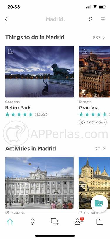 app de rutas turísticas minube 1